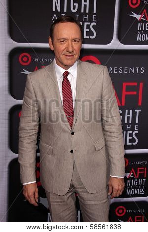 Kevin Spacey at AFI Night At The Movies, Arclight, Hollywood, CA 04-24-13