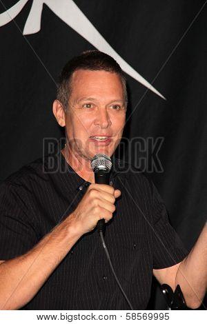 Mike Malinin at the Goo Goo Dolls RockWalk Induction, Guitar Center, Hollywood, CA 05-07-13