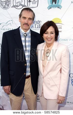 Bill Moseley and Patricia Heaton at the Compton Jr, Posse Gala honoring Patricia Heaton and Portia de Rossi, Burbank Equestrian Center, Burbank, CA 05-18-13