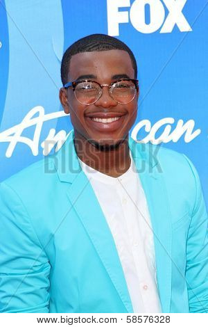 Burnell Taylor at the American Idol Season 12 Finale Arrivals, Nokia Theater, Los Angeles, CA 05-16-13