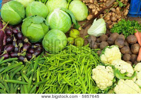 indischen Gemüse