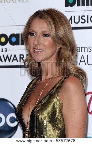 Celine Dion at the 2013 Billboard Music Awards Press Room, MGM Grand, Las Vegas, NV 05-19-13