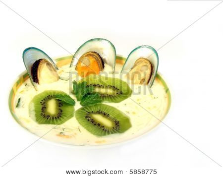 Miso Soup With Mussels
