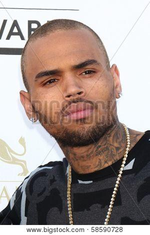 Chris Brown at the 2013 Billboard Music Awards Arrivals, MGM Grand, Las Vegas, NV 05-19-13