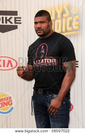 Rampage Jackson at the 2013 Spike TV Guys Choice Awards, Sony Studios, Culver City, CA 06-08-13