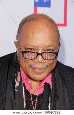 Quincy Jones at the 1st Annual Children Mending Hearts Style Sunday, Private Location, Beverly Hills, CA 06-09-13