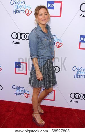 Sasha Alexander at the 1st Annual Children Mending Hearts Style Sunday, Private Location, Beverly Hills, CA 06-09-13