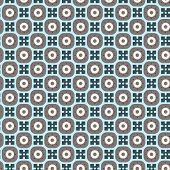 Seamless simple retro geometrical pattern of classic style poster
