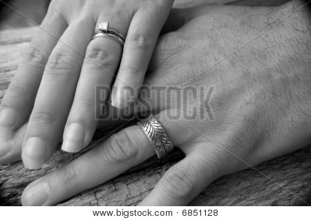 Wedding Bands and Wedding Hands
