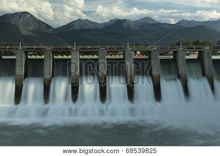 Kananaskis Hydro Electric Dam M2
