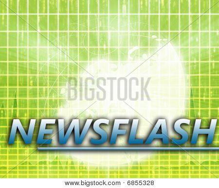 Europe Latest update news newsflash splash screen announcement illustration poster
