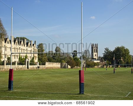 Rugby Fields Of Oxford