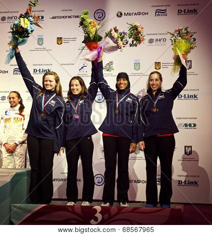 Usa National Sabre Team