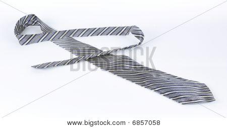 Masculine Tie On A White Background