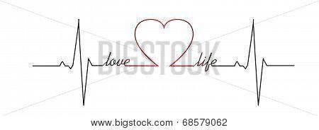 Love Life Heart Beat