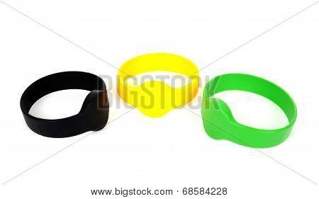 Color Rfid Id Bracelets