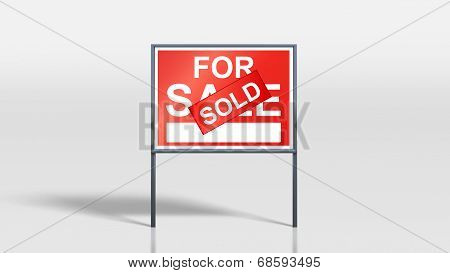 House Signage Stands House For Sale Sold On Cover