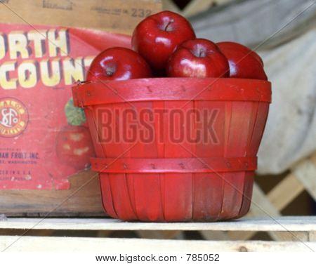 old apple box