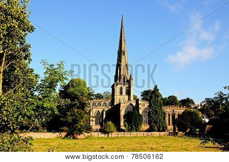 Saint Oswald church, Ashbourne.