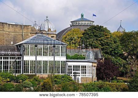 Pavilion buildings, Buxton.
