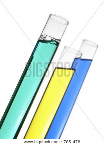 Three Test Tubes