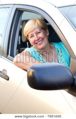 friendly female driver