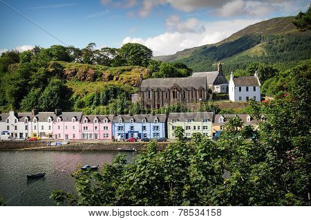 Harbour Of Portree