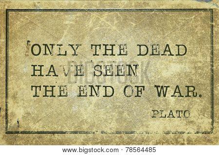 War End Plato
