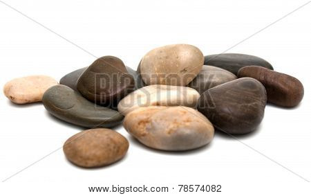 Pebbles Heap Isolated