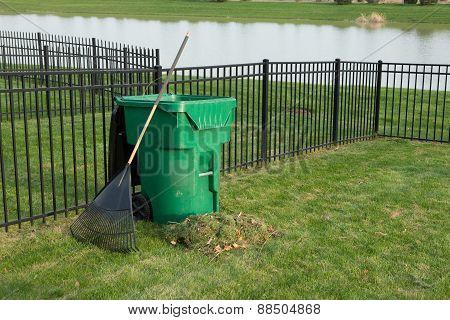 Yard Maintenance In Spring