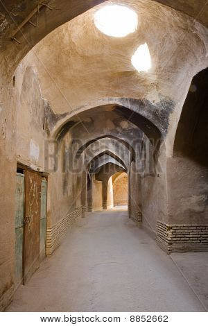 Streets Of Old Yazd