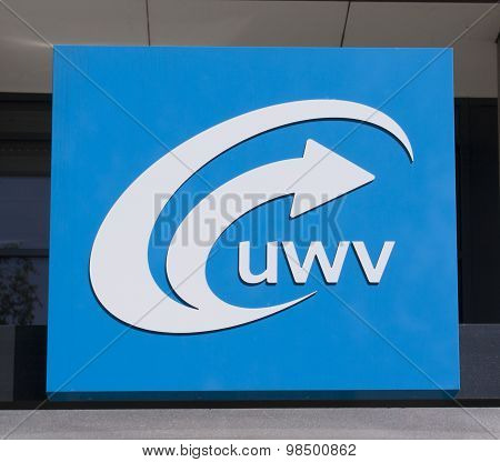 Sign Of The Employment Office Uwv