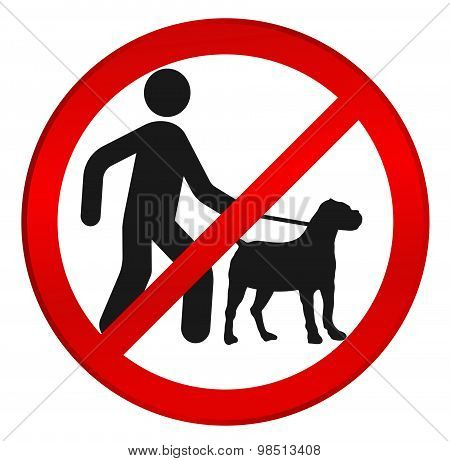 no dog sign