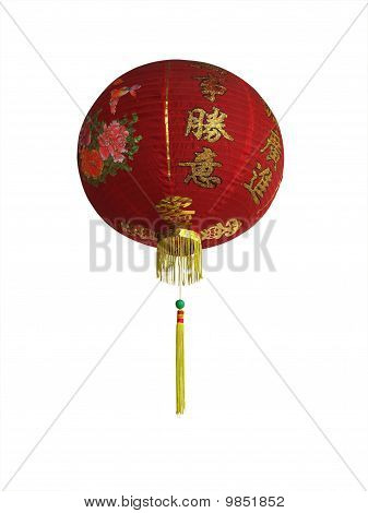 Chinese Lantern Red With Gold