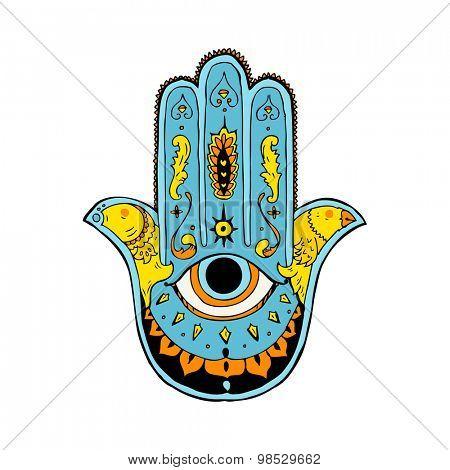cartoon hamza symbol