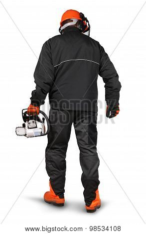 Professional Logger Safety Gear