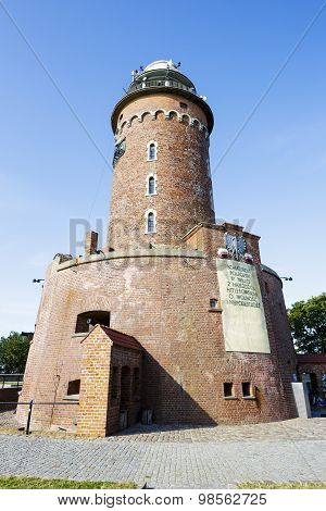 The Lighthouse Made Of Brick, Kolobrzeg, Poland