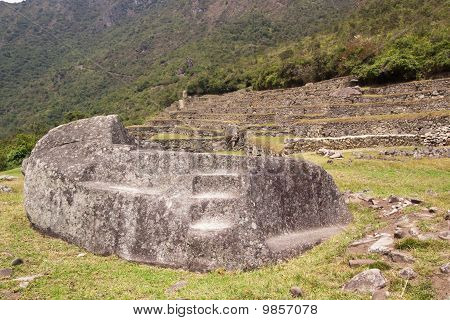 Machu Picchu Funerary Rock