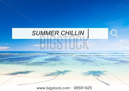 Beautiful Scenic Beach Nature Sea Concept