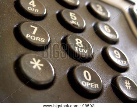 Telephone Dial Board