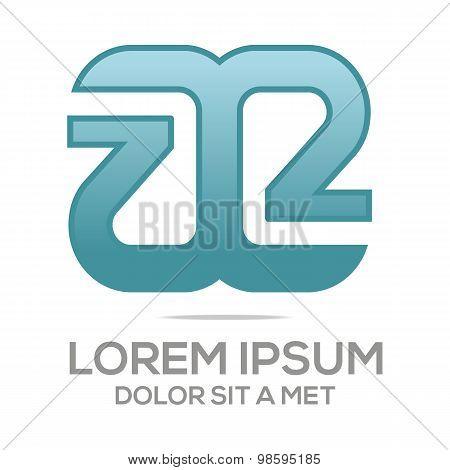 Logo vector Letter A Alphabet