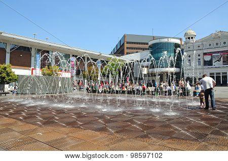 Williamson Square, Liverpool.
