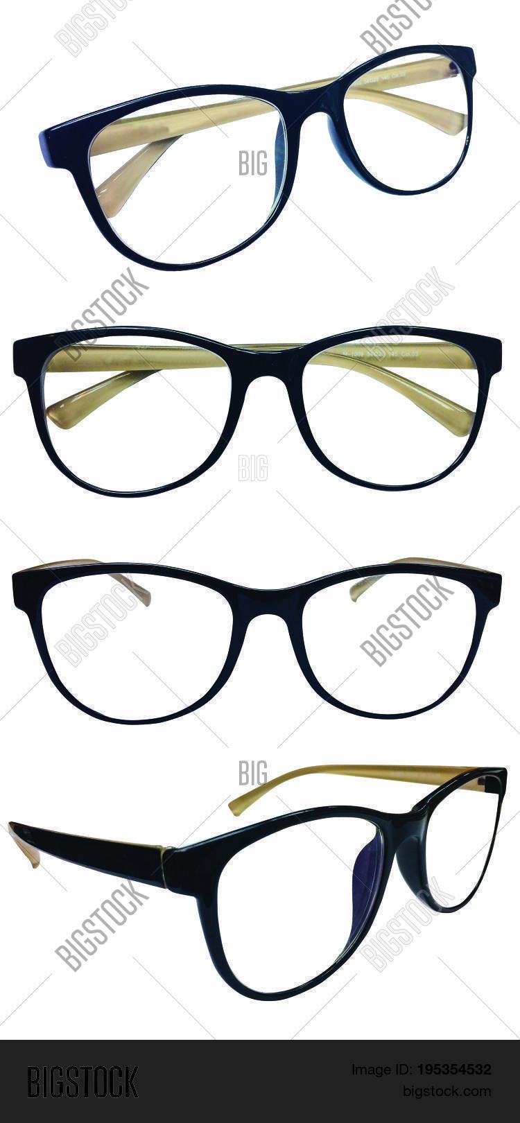 Set Eyeglass Frames, Black, Brown Image & Photo   Bigstock