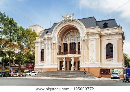 The Saigon Opera House, Ho Chi Minh City, Vietnam