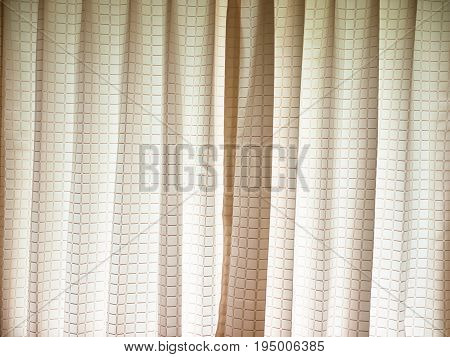 Vertical window blinds with the sun light.