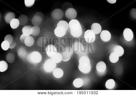 Bokeh Background Blur Light Retro Holiday Background