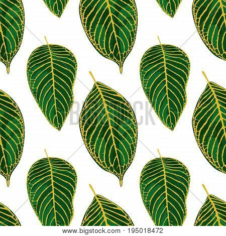 Exotic Tropical Tileable Pattern