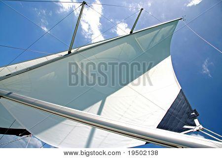 Полная Ветер паруса