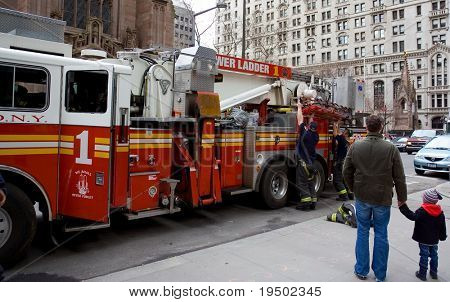 New York Fire Department at Work