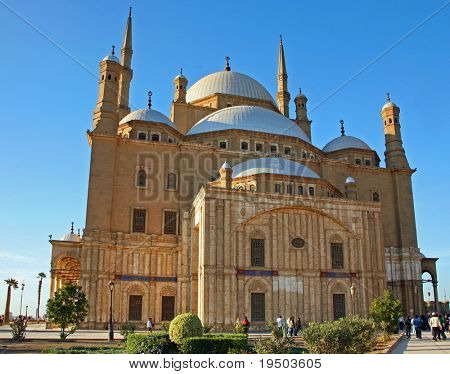 Alabaster Mosque of Mohamed Ali in Cairo, Egypt